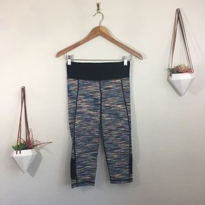 Sweaty Betty heathered cropped leggings